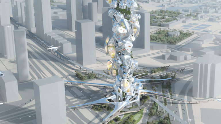 Architecture  based on Vertical Mobility in Dubai