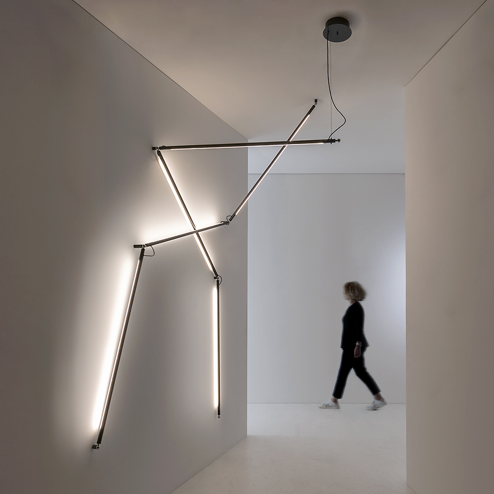 Martinelli Luce presents Magnetic Colibrì: thin, light, three-dimensional | Compasses Magazine | The architecture & interior design international network - middle east